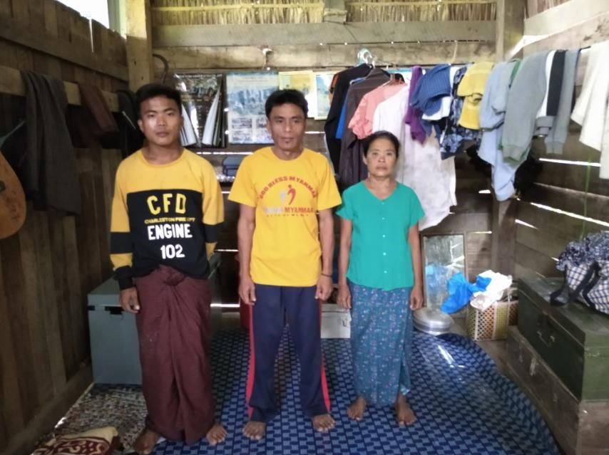 MYANMAR | JAN. 27, 2021 — Five Families Kicked Out of Village in Rakhine State