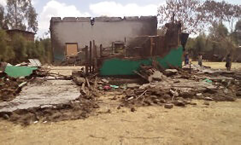 ETHIOPIA | MAR. 12, 2021 — Local Officials Oppose Church Being Rebuilt