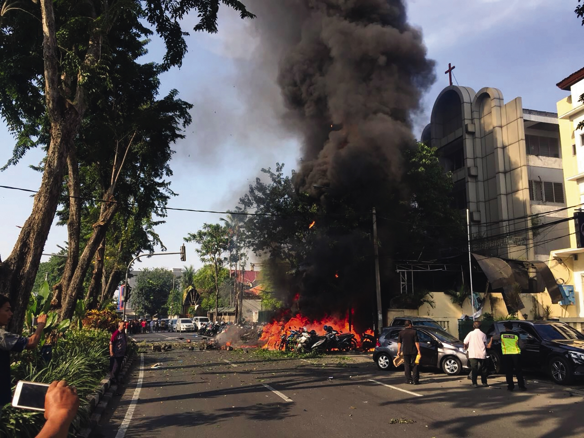 INDONESIA | APR. 30, 2021 — Suicide Bombers Attack Church, Injure 19