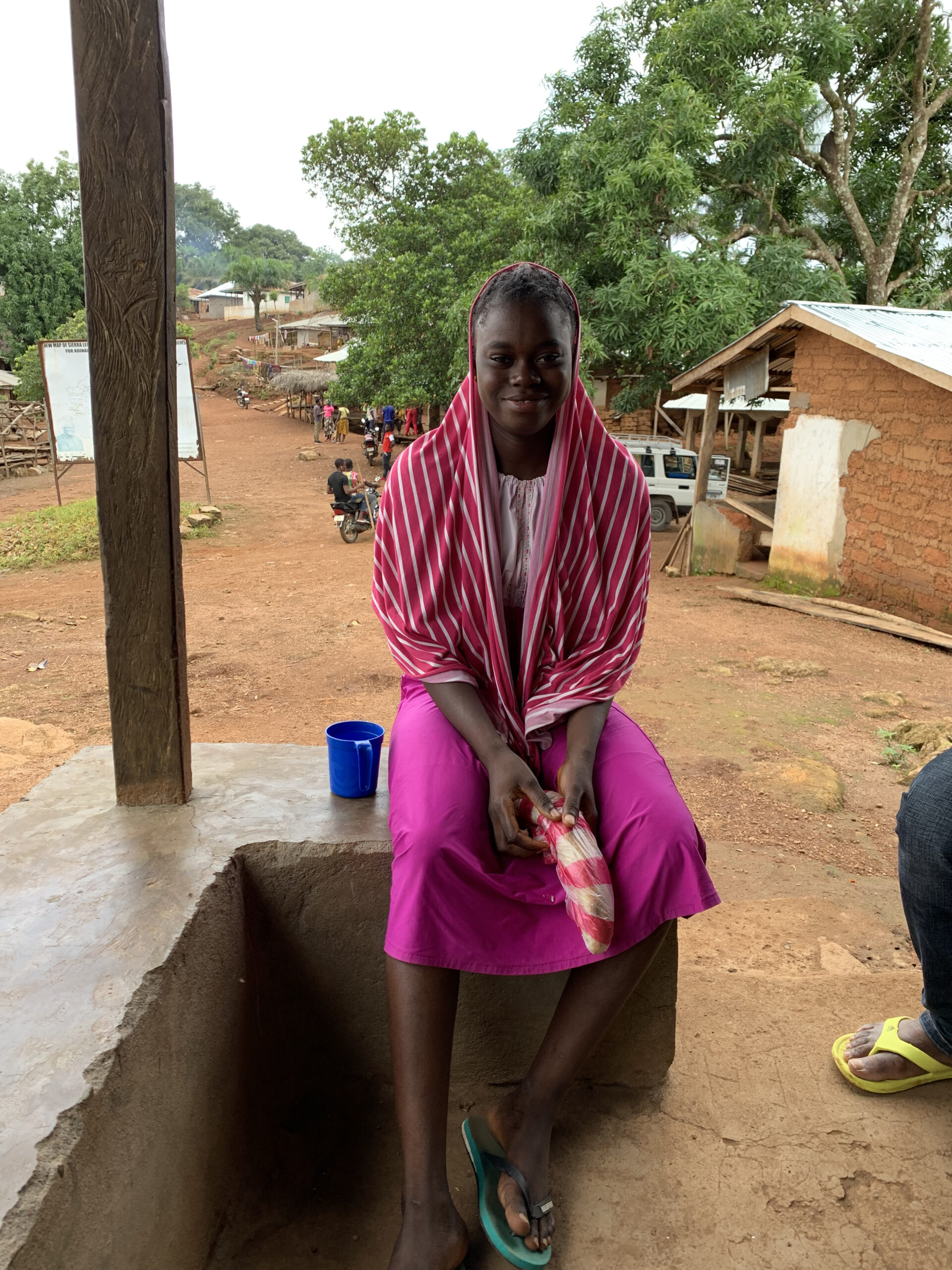 SIERRA LEONE | AUG. 23, 2021 — Christian Woman's Sewing Supplies Stolen by Family