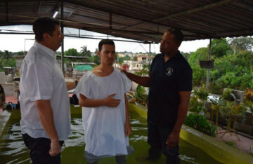 CUBA | OCT. 18, 2021 — More than 100 New Believers Baptized